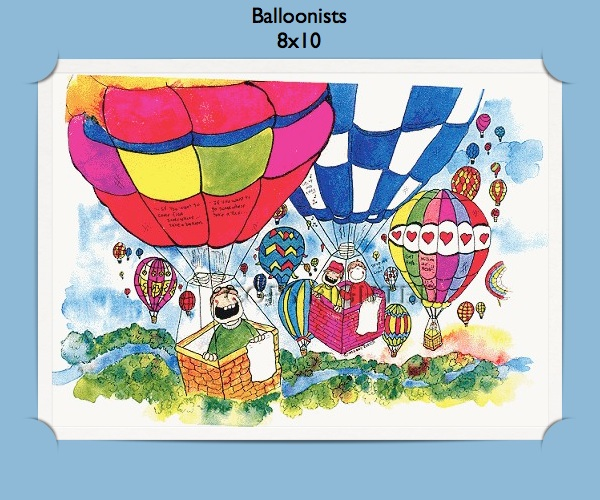 Party Balloons Zurich: Personalized Hot Air Balloon Gifts